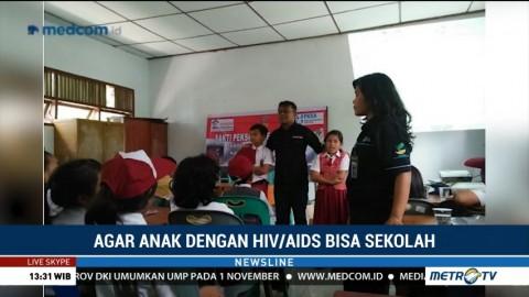 Agar Anak dengan HIV/AIDS Bisa Sekolah