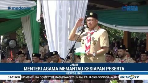 Perkemahan Pramuka Santri Nusantara 2018 Resmi Dibuka