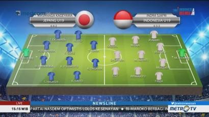 Perkiraan Formasi Jepang U-19 vs Indonesia U-19