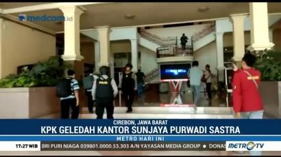 KPK Geledah Kantor Bupati Cirebon