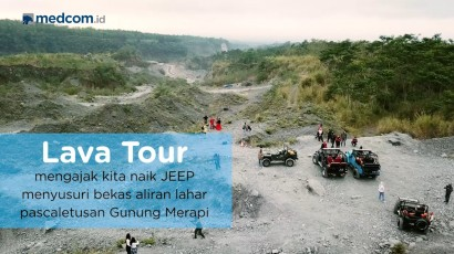 Yuk! Berwisata Susuri Kawasan Gunung Merapi