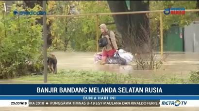 Banjir Bandang Landa Rusia Selatan, 6 Orang Tewas