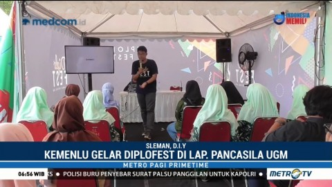 Kemenlu Gelar DiploFest di Yogyakarta