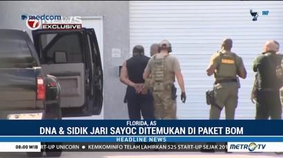 Pengirim Paket Bom Pipa di AS Ditangkap