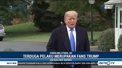 Terduga Pelaku Paket Bom di AS Merupakan Fans Trump