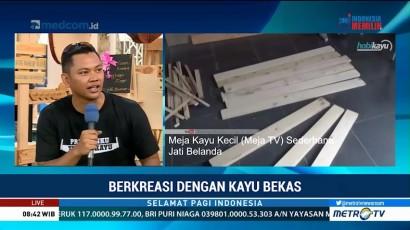 Berkreasi dengan Kayu Bekas (2)
