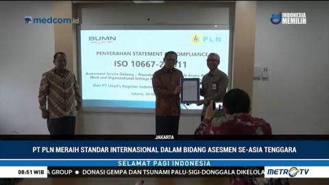 PLN Raih Standar Internasional Bidang Asesmen se-Asia Tenggara