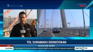 Tol Suramadu Digratiskan, Jasa Marga Sosialisasikan Melalui Sosmed dan Spanduk