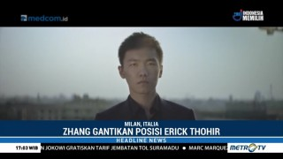 Steve Zhang Jadi Presiden Baru Inter Milan