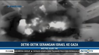 Detik-Detik Serangan Israel ke Gaza