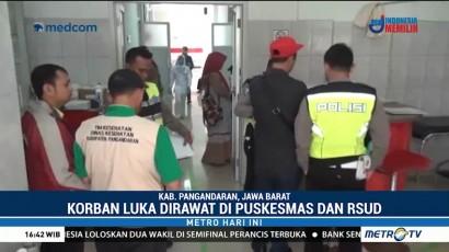 Korban Luka Berat Kecelakaan Bus di Pangandaran Dirujuk ke RSUD Kota Banjar