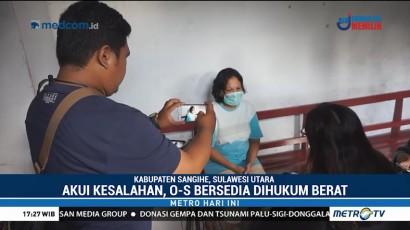 Ibu Pembakar Anak Kandung Siap Menerima Hukuman Berat