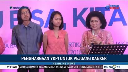 CEO Media Group Raih Penghargaan dari YKPI
