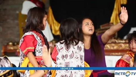 Harapan Aerli Rasinah untuk Tari Topeng di Indonesia