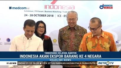 Indonesia akan Ekspor Komoditas Barang ke Empat Negara
