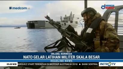 NATO Latihan Militer di Laut Norwegia