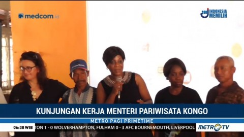 Menteri Republik Kongo Kunjungi Brigade Pengendalian Karhutla