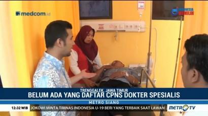 Pendaftar CPNS Dokter Spesialis di Trenggalek Minim