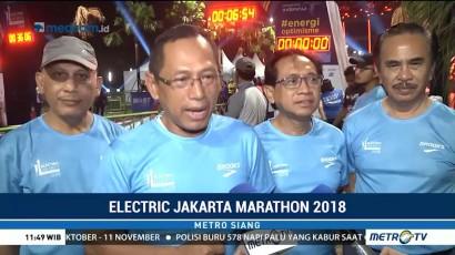 Electric Jakarta Marathon Kembali Digelar