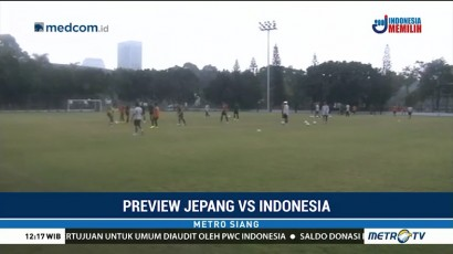 Preview Indonesia vs Jepang