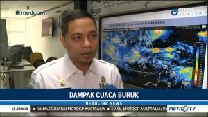 BMKG: Hujan dan Angin Kencang di Palembang Akibat Awan Cumulonimbus
