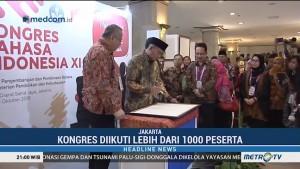 Kemendikbud Gelar Kongres Bahasa Indonesia XI di Jakarta