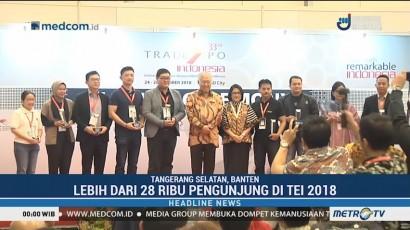 Trade Expo Indonesia 2018 Resmi Ditutup