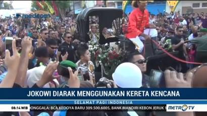 Presiden Jokowi Hadiri Festival Keraton Nusantara 2018
