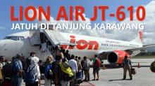 Fakta Seputar Jatuhnya Lion Air JT610