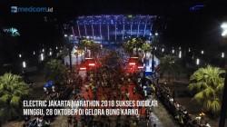 Electric Jakarta Marathon 2018 Sukses Digelar