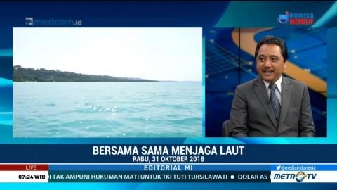 Bedah Editorial MI: Bersama-sama Menjaga Laut