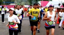 Menebar Energi Optimisme di Electric Jakarta Marathon 2018