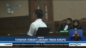 Kasus Suap Bakamla, Fayakhun Dituntut 10 Tahun Penjara