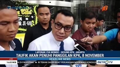 Taufik Kurniawan Mangkir dari Pemeriksaan KPK