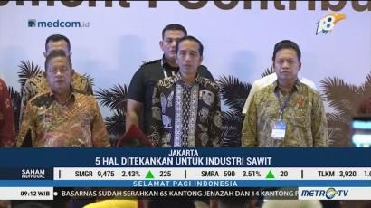 Jokowi Tekankan 5 Hal Ini ke Pelaku Usaha Kelapa Sawit