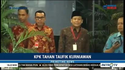 Wakil Ketua DPR Taufik Kurniawan Ditahan