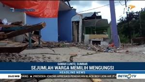 16 Rumah Rusak Akibat Tanah Bergerak di Sawahlunto