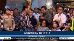 Saat Jokowi Temui Keluarga Korban Lion Air