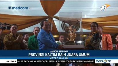Kalimantan Timur Juara Umum Pesparani Katolik Nasional I