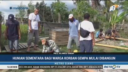 Media Group Mulai Bangun Hunian Sementara di Palu