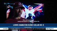 Hamilton Kunci Gelar Juara Dunia F1 2018