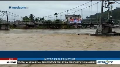 Banjir Rendam Lima Desa di Rokan Hilir