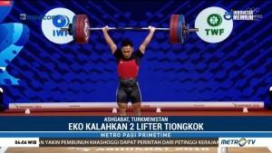Eko Yuli Rebut Emas di Kejuaraan Dunia Angkat Besi