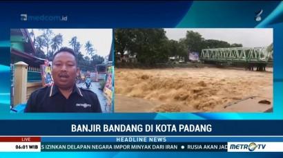 Banjir Bandang, Pemkot Padang Tetapkan Tanggap Darurat 7 Hari