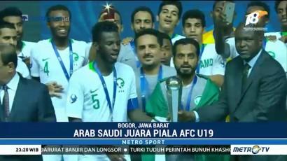 Kalahkan Korsel, Timnas Arab Saudi Juarai Piala Asia U-19 2018