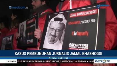 Peringatan Wafatnya Jurnalis Jamal Khashoggi