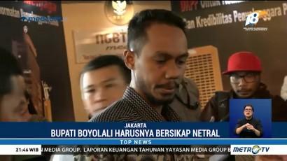 Pendukung Prabowo Laporkan Bupati Boyolali ke Bawaslu
