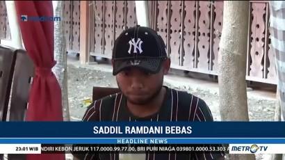 Penahanan Saddil Ramdani Ditangguhkan