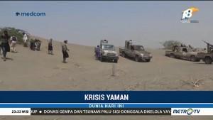 Pasukan Militer Yaman Serang Basis Houthi