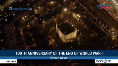 100th Anniversary of  The End of World War I
